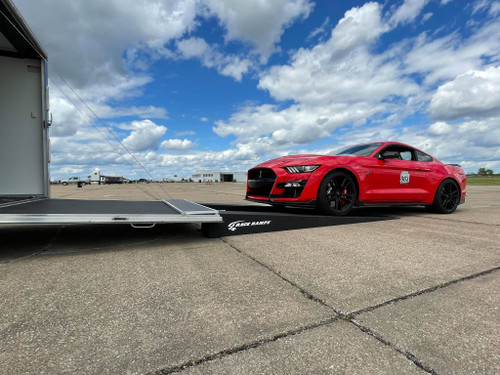 Factory height 2020 Shelby GT500 on Race Ramps RR-TR-11-2