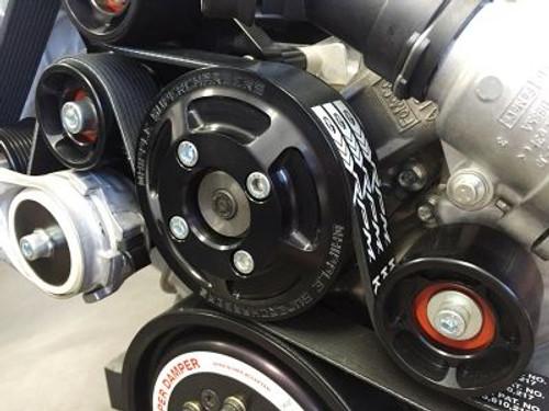 Whipple 10-Rib Race Belt System (2011-2014 Mustang) (WHIPPLE-WB-COY10-11)