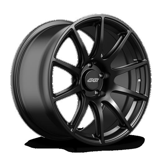 "APEX 18x10"" ET40 Satin Black SM-10 Mustang Wheel"