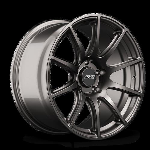 "APEX 18x10"" ET40 Anthracite SM-10 Mustang Wheel"