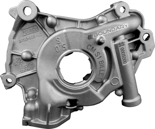 Boundary Assembled Coyote Oil Pump w/ Billet Back Plate & Black Series Gears (2011-2017 Mustang & F-150)