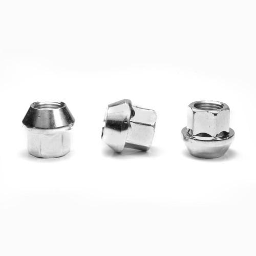 APEX Silver 19mm M14x1.5 Open Race Lug Nut
