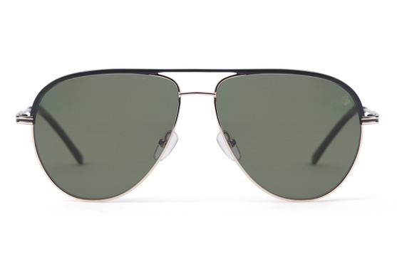 Polarized green lens.