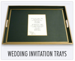Lady Clare Wedding Invitation Trays