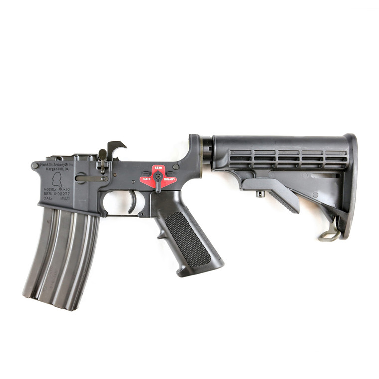 BFSIII™ Equipped FRANKLIN ARMORY® M4-Built Lower Receiver