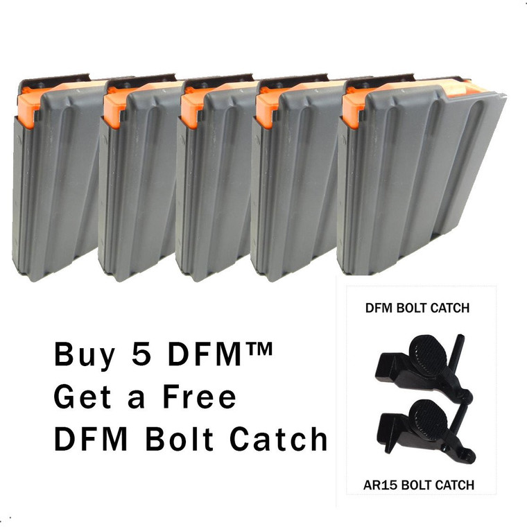 DFM™ Package, 5 DFMs™ And 1 Free DFM™ Bolt Catch