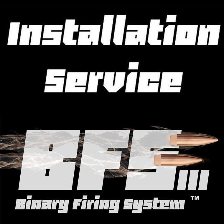 Binary Firing System™ Trigger Installation Service
