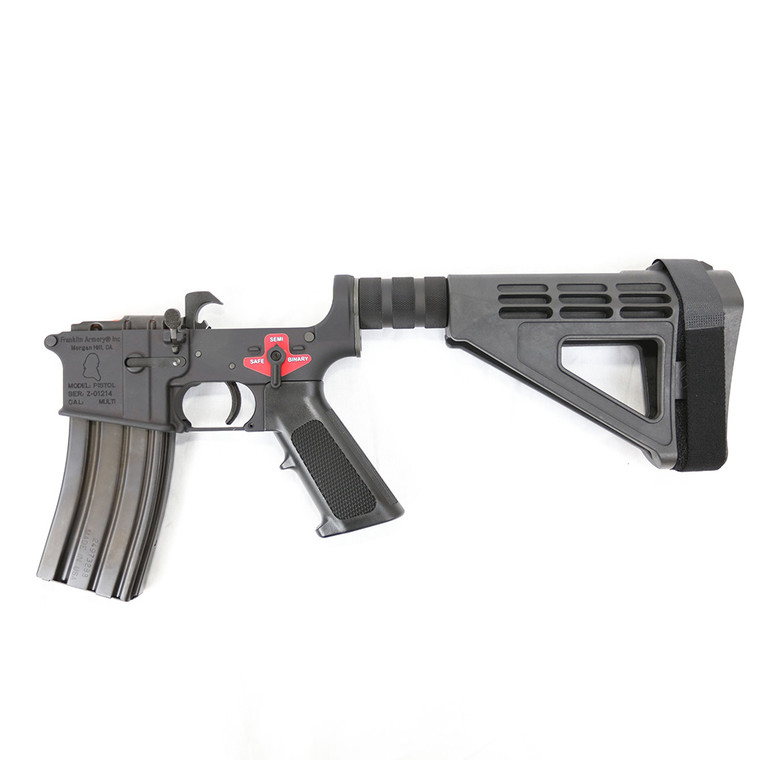 BFSIII™ Equipped FRANKLIN ARMORY® Pistol Built Lower Receiver