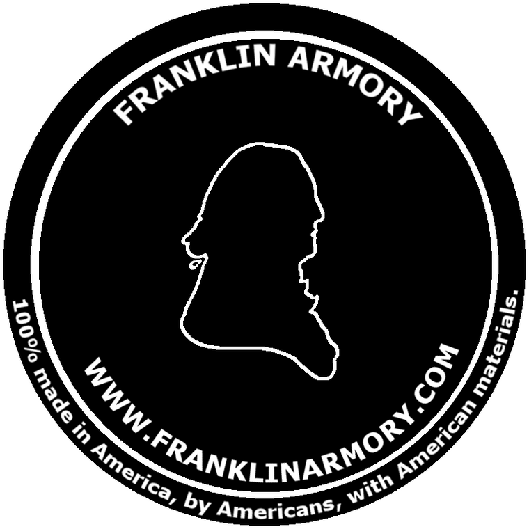 FRANKLIN ARMORY® - round decal