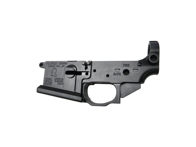 FRANKLIN ARMORY® Libertas™ Billet Stripped Lower Receiver