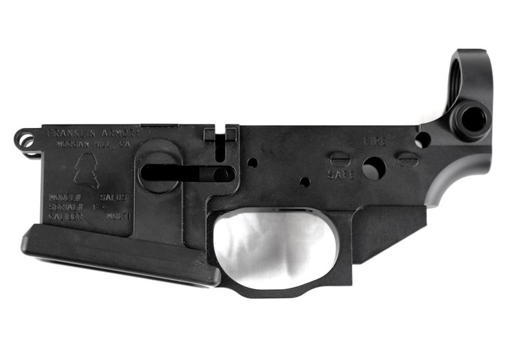 FRANKLIN ARMORY® SALUS™ Pistol Billet Stripped Lower Receiver
