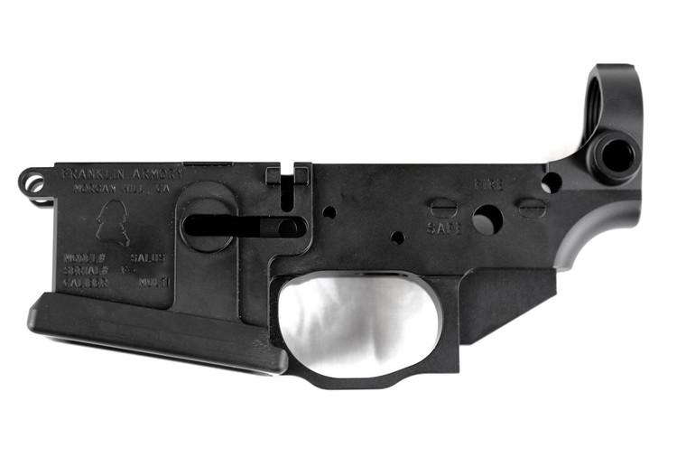 FRANKLIN ARMORY® SALUS™ Pistol Billet Stripped Lower Receiver