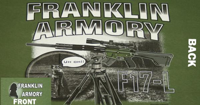 FRANKLIN ARMORY® F17-L T-Shirt Short Sleeve