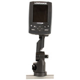 YakAttack Lowrance Fish Finder Mount with Track Mounted LockNLoad Mounting System