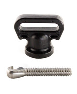 YakAttack SUP Leash Plug Adapter with Vertical Tie Down