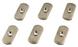 YakAttack 1/4-20 Track Nut, 6 Pack