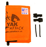 "YakAttack VISICarbon Pro™ Flag, Orange 6"" X 18"""