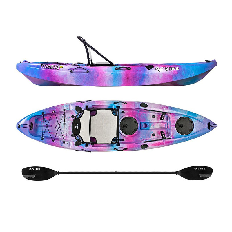 Vibe Yellowfin 100 Kayak Package Jamberry