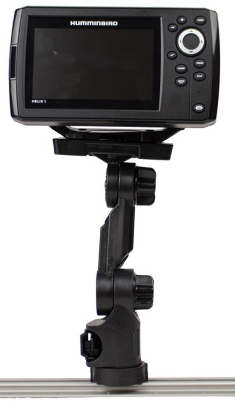 YakAttack Humminbird Helix® Fish Finder Mount with Track Mounted LockNLoad™ Mounting System
