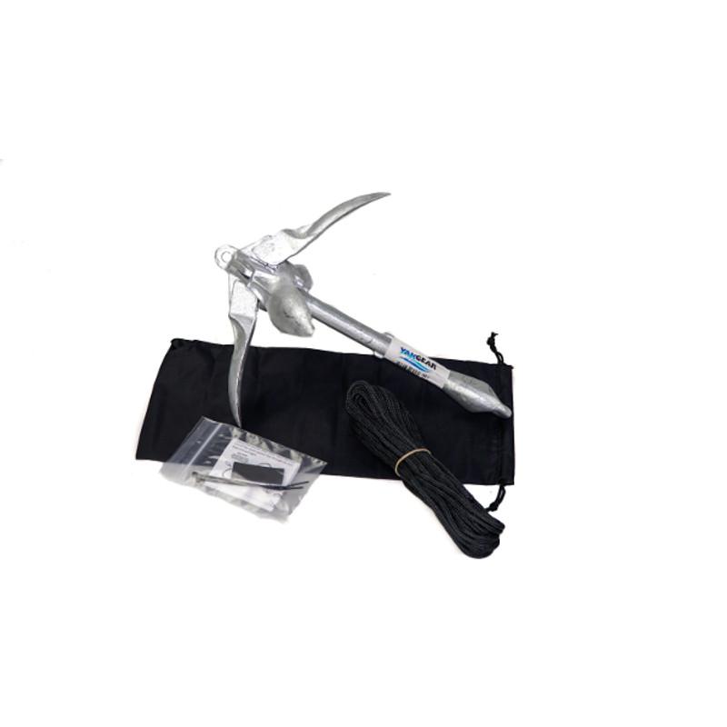 YakGear 3.3lb Grapnel Anchor Kit