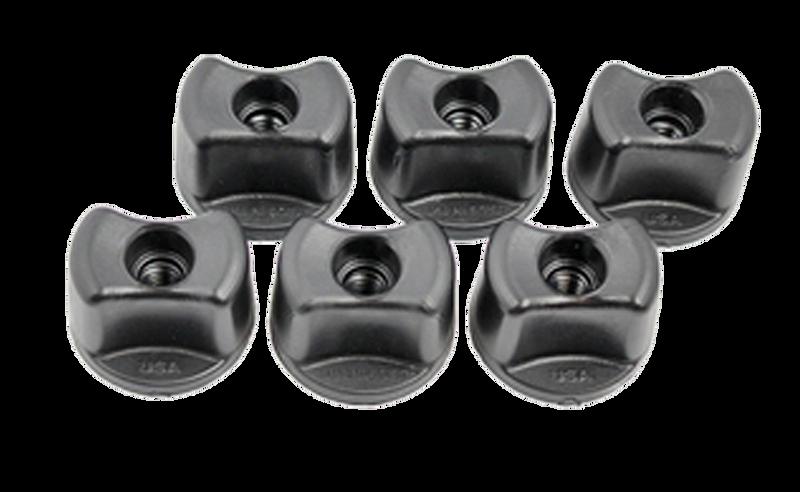 YakAttack Convertible Knobs, 1/4-20 Threads, 6 pack