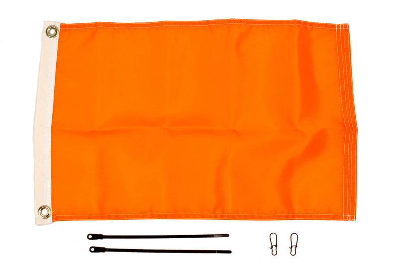 "YakAttack Orange Flag Kit 12"" X 18"""