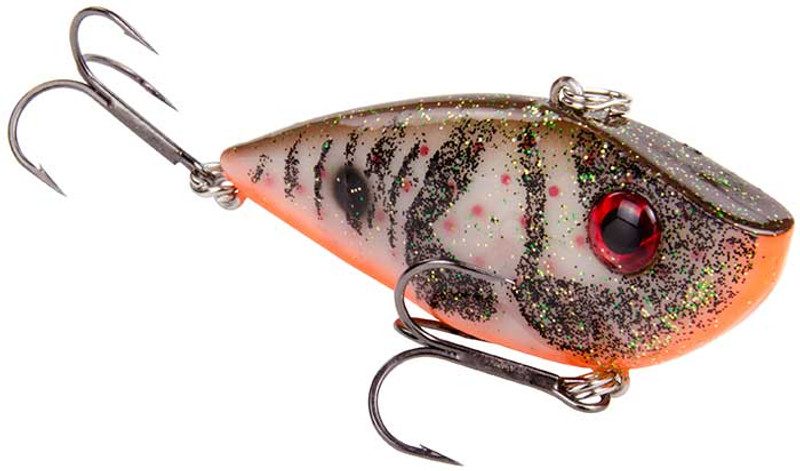"Strike King Red Eye Shad 1//2 oz /""Albino Craw/"""