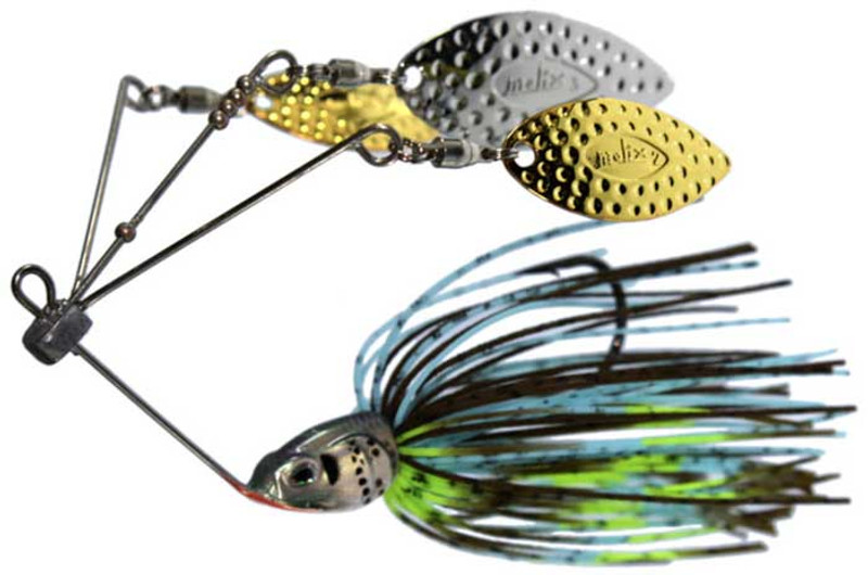 Molix Mike Iaconelli Lover Triple Willow Spinnerbait 1/2 oz