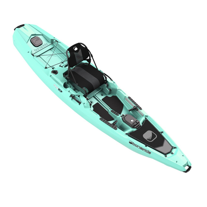 Bonafide RS117 Sit on Top Fishing Kayak Endless Summer Aqua	1BO1-0020