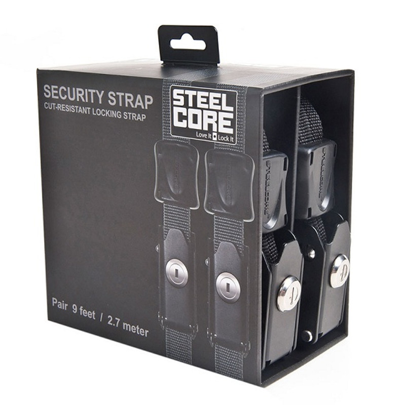 Steelcore 9' Locking Strap Pair
