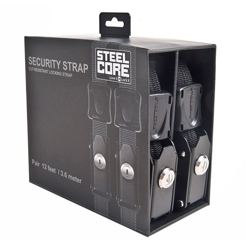 Steelcore 12' Locking Cable Pair