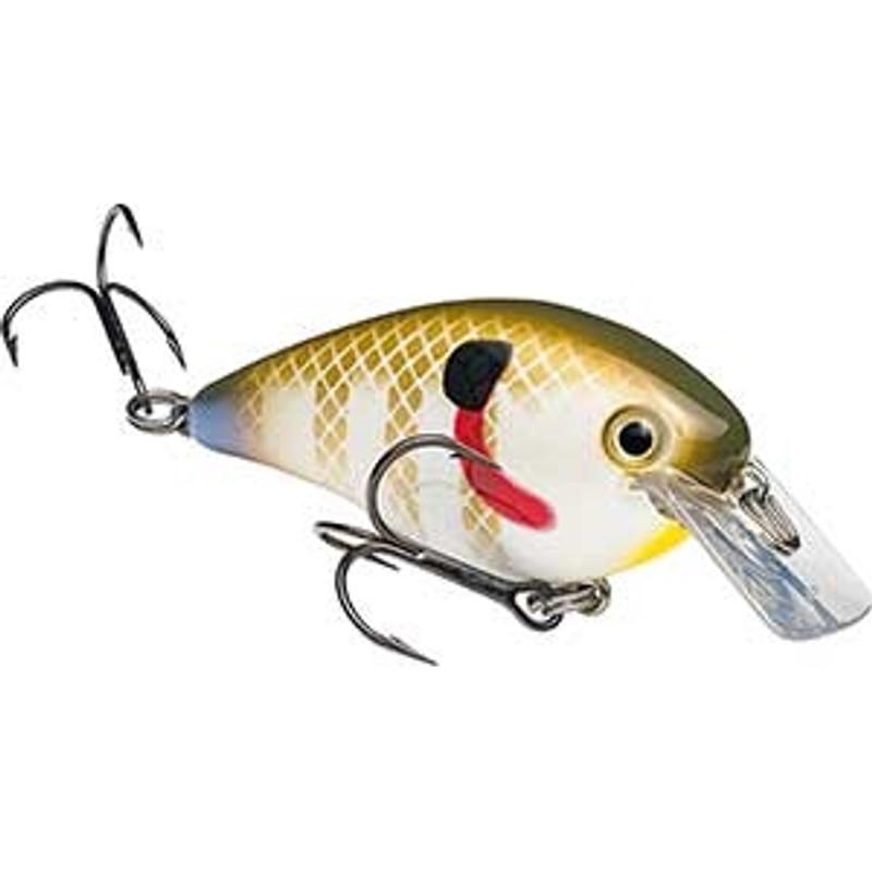 Strike King KVD Square Bill 1.0 Silent Shallow Dive Crankbait Bass Fishing Lure