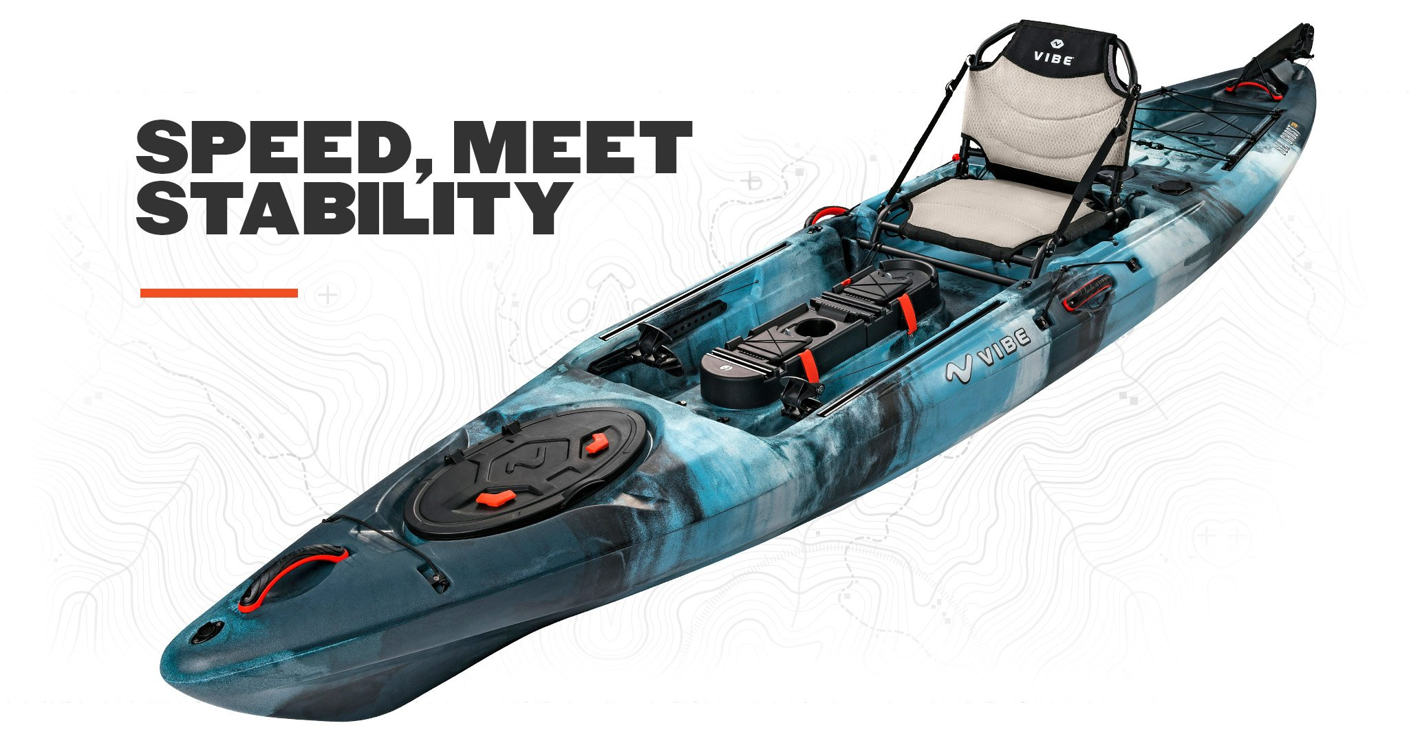 2019 Vibe Sea Ghost 130 - Speed Meets Stability