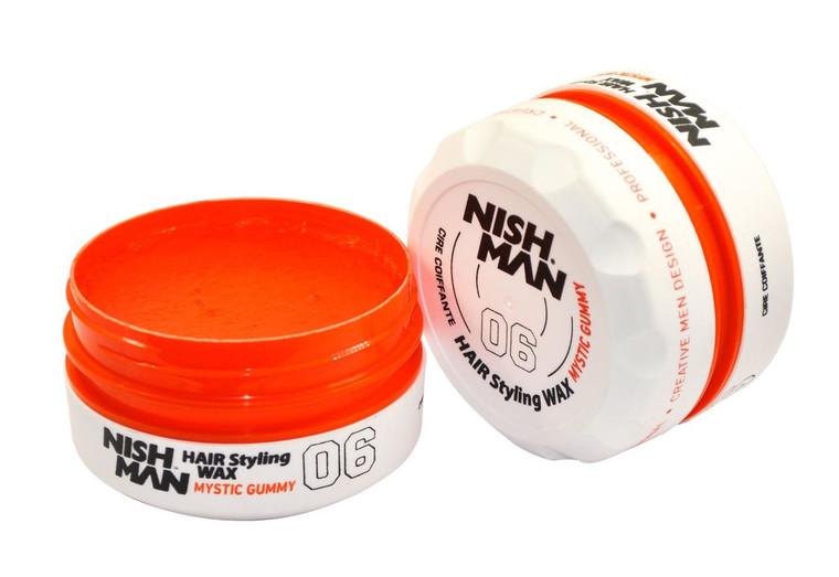 NISHMAN Hair Wax 06 Mystic Gummy 150ml