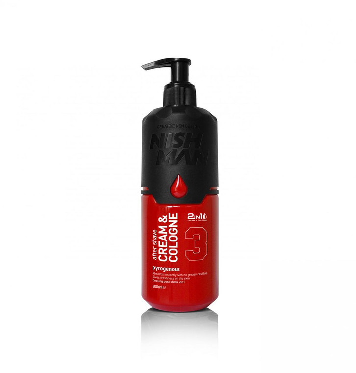 Nishman Aftershave Cream & Cologne 03 Pyrogeneous