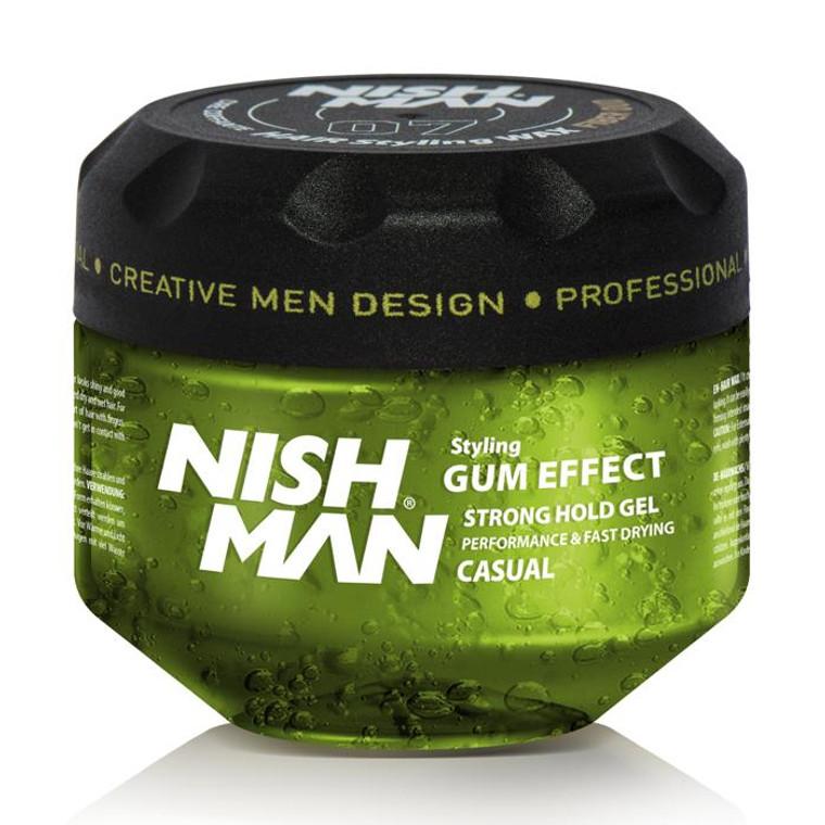 Gum Effect Nishman Hair Gel