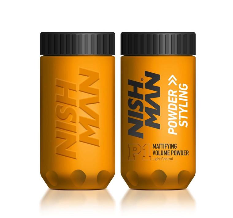 NISHMAN Matt Finish Volume Powder and Styling Light Control