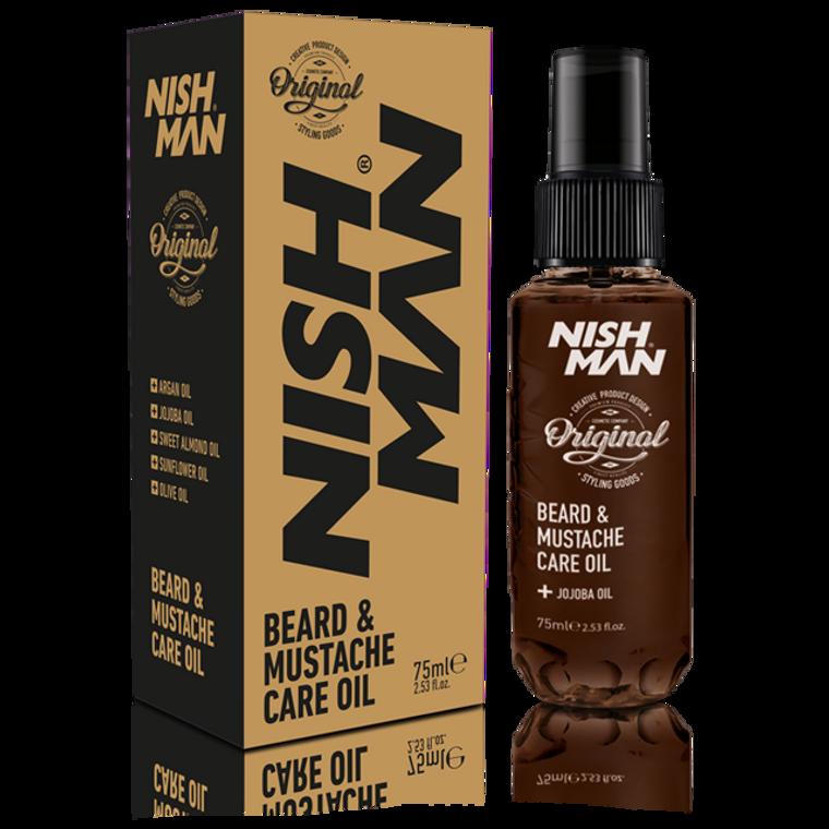 Nishman Beard & Mustache Care Oil 2.5oz