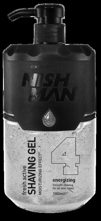 Nishman Fresh Active Shaving Gel 1000ml #4