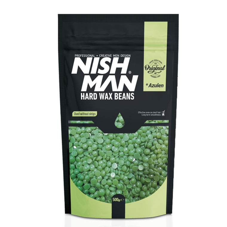 Nishman Professional Hard Wax Beans Azulen