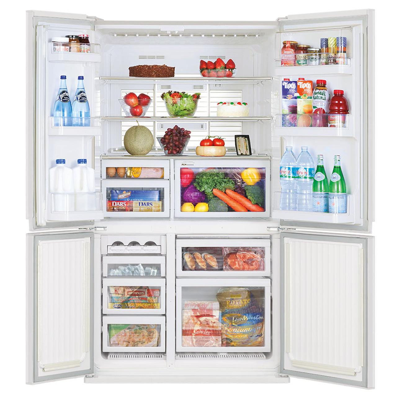 Mitsubishi Mr L650en Gwh A2 French Door Refrigerator Rawsons Appliances