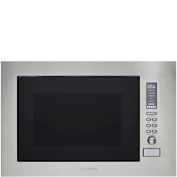 Smeg SBIM30X-1 Built-in Convection Microwave Oven