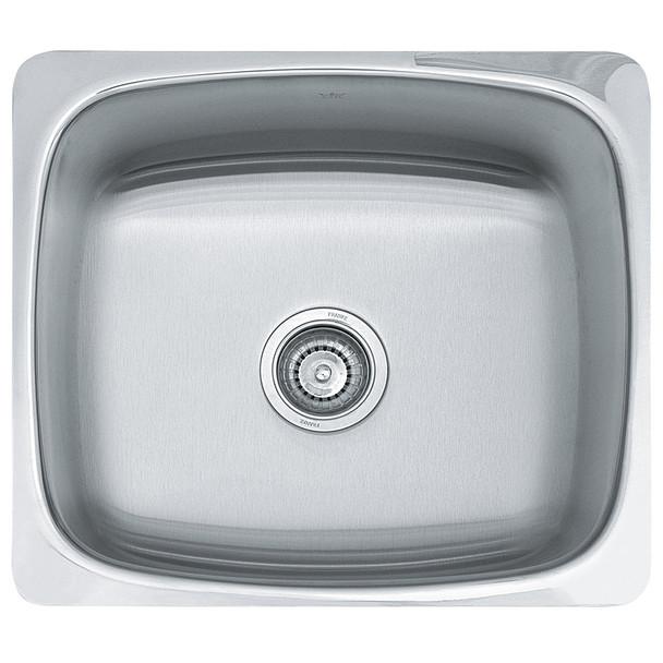 Franke SQX610-60 Steel Queen Laundry Sink