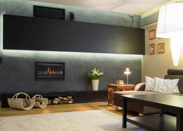 Rawsons Appliances Bathrooms - Real Flame Inspire 900 Gas Fireplace - installed family room