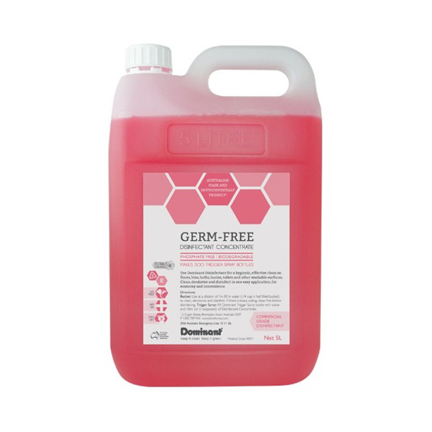 Rawsons Appliances Bathrooms - Dominant 90571 5 litre Disinfectant