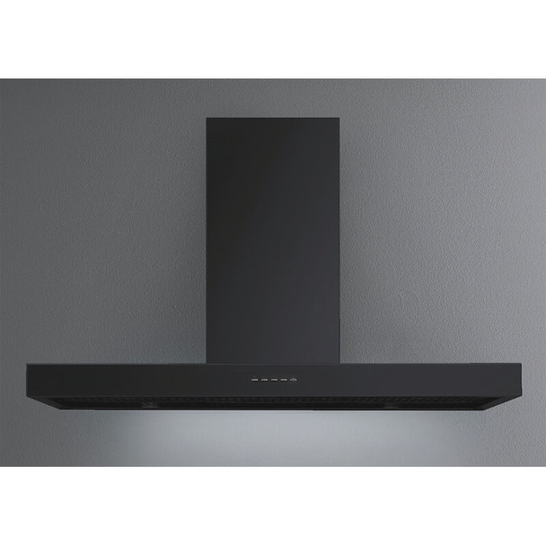 Rawsons Appliances Bathrooms - Falmec F5PB90B1 Plane Black Canopy Rangehood