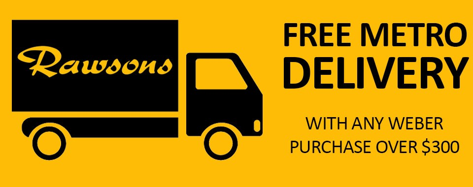Rawsons Appliances Bathrooms - Free Metro Delivery On Weber BBQ's