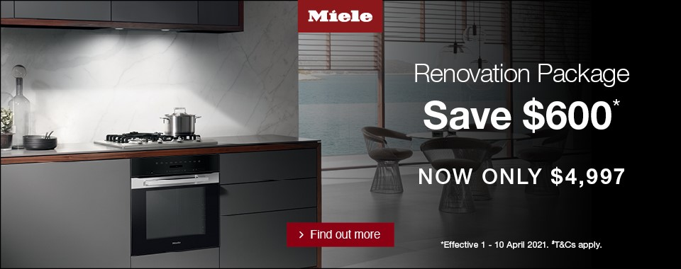Rawsons Appliances Bathrooms - Miele Renovators Pack