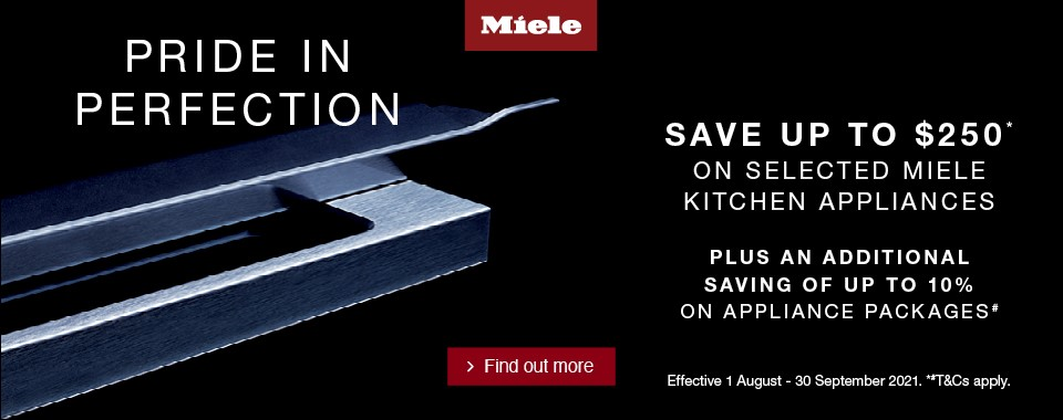 Rawsons Appliances Bathrooms - Miele August - September 2021 Cooking Promotion