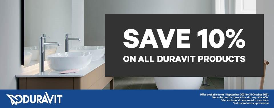Rawsons Appliances Bathrooms - Duravit Save 10%